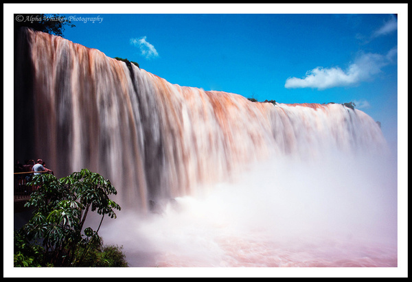 Iguassu Falls, Argentina by Alpha Whiskey Photography