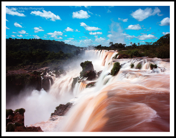 Iguassu Falls, Brazil by Alpha Whiskey Photography