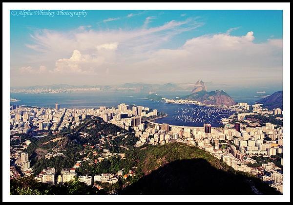 Views Over Rio De Janeiro by Alpha Whiskey Photography