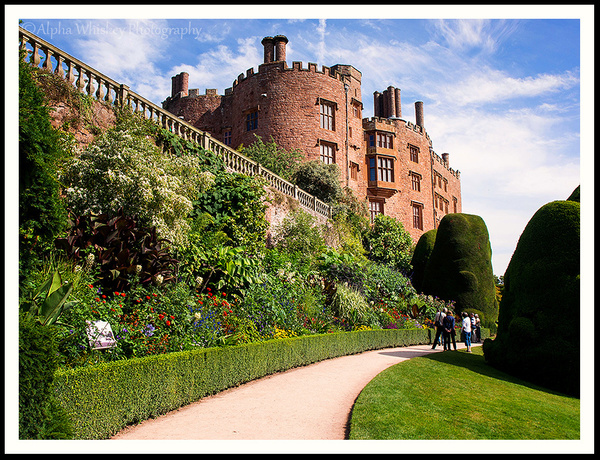 Powis Castle And Garden by Alpha Whiskey Photography