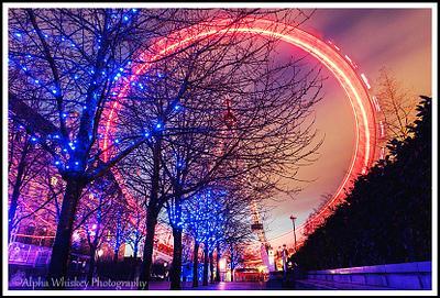 Christmas Lights And Long Exposures