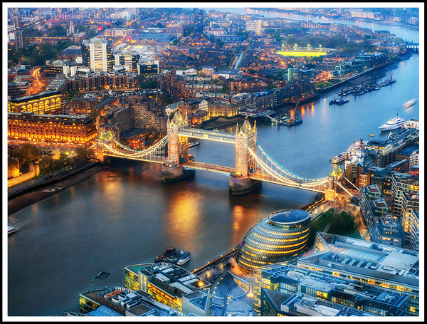 View From The Shard by Alpha Whiskey Photography