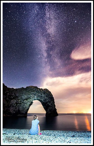 Durdle Door Under The Stars by Alpha Whiskey Photography