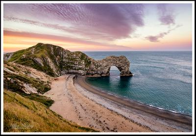 Durdle Door At Sunrise And Beyond