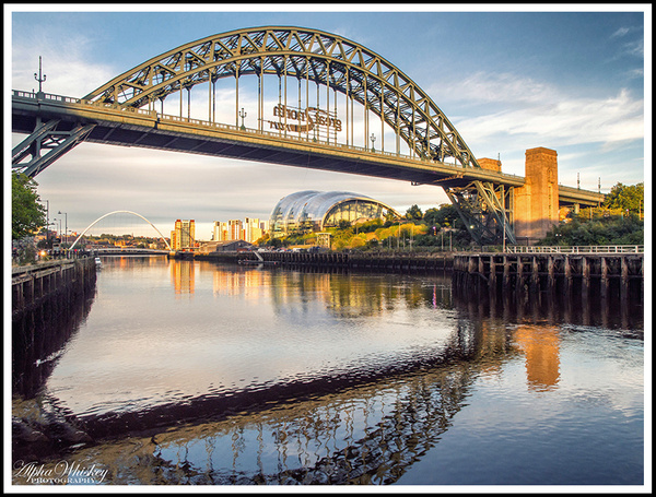 Postcard From Newcastle by Alpha Whiskey Photography