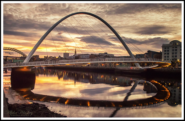 Evening On The Tyne by Alpha Whiskey Photography by...
