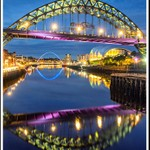 Evening On The Tyne