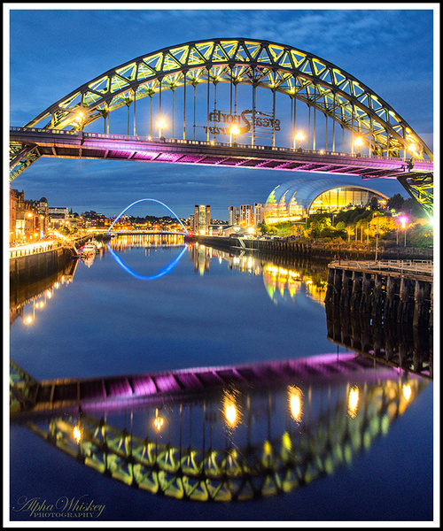 Evening On The Tyne by Alpha Whiskey Photography