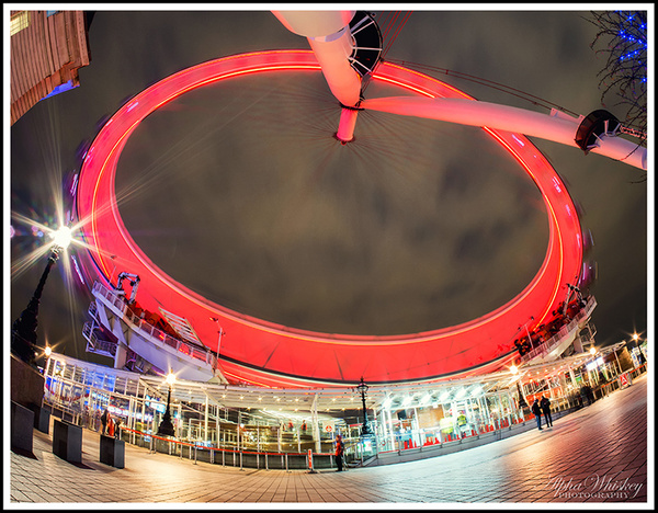 Fish Eye In London by Alpha Whiskey Photography