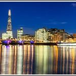 London Evening Lights