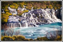 Hraunfossar And Grabrok