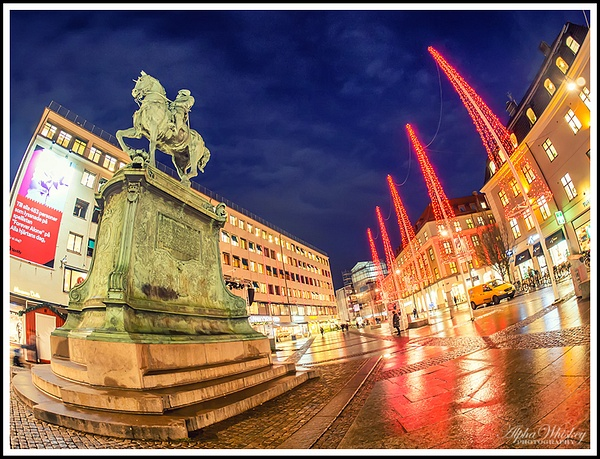 Christmas Lights in Gothenburg by Alpha Whiskey...