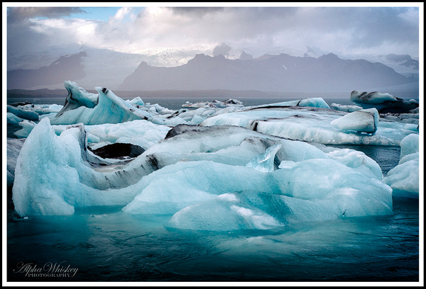 Glacier Lagoon by Alpha Whiskey Photography