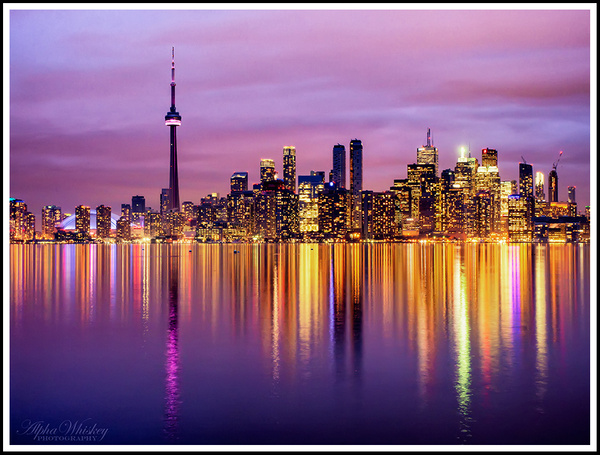6b Toronto Skyline by Alpha Whiskey Photography
