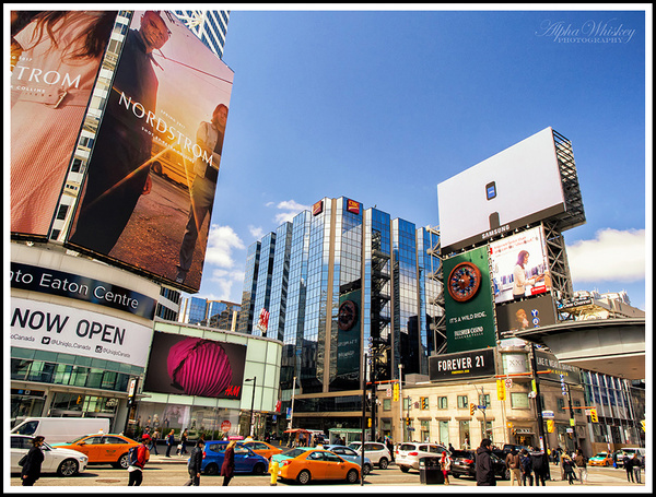 8 Yonge Dundas Square by Alpha Whiskey Photography