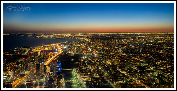 20 View from CN Tower by Alpha Whiskey Photography