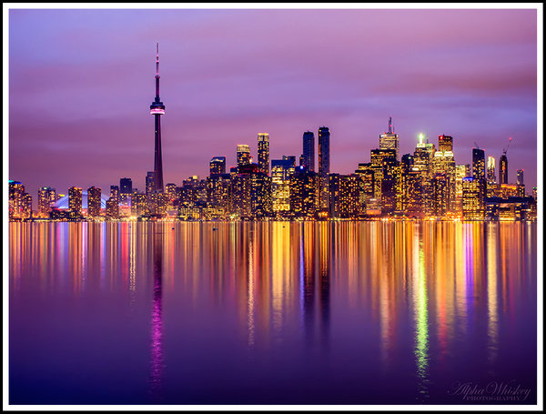 Toronto Skyline by Alpha Whiskey Photography