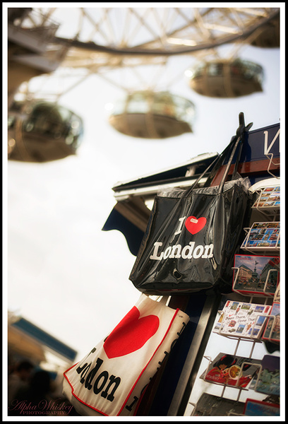 Tribute To London by Alpha Whiskey Photography by Alpha...
