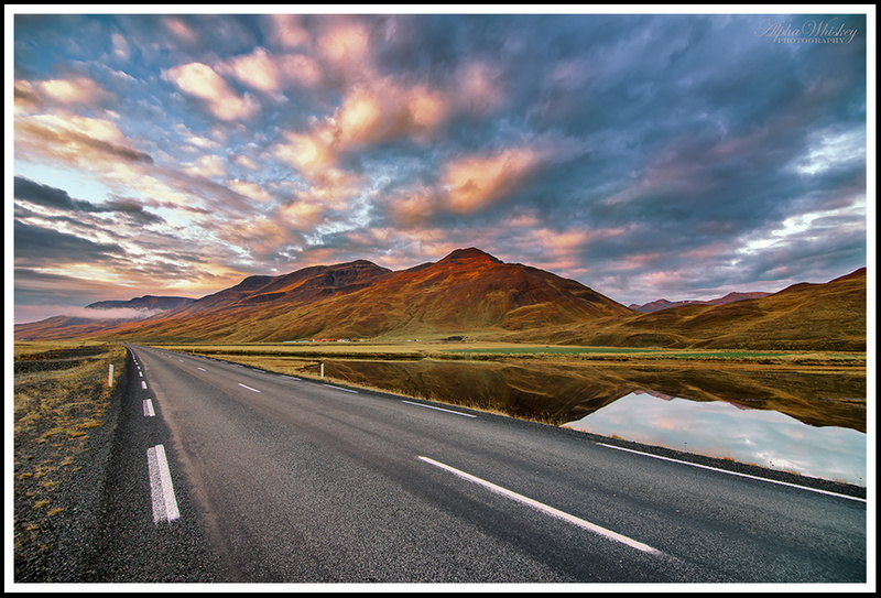 On The Road In Iceland
