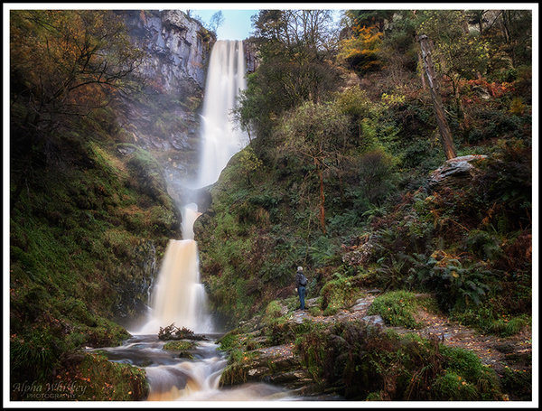 Pistyll Rhaeadr Redux by Alpha Whiskey Photography