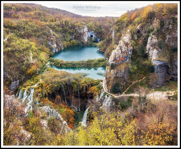 Plitvice Lakes by Alpha Whiskey Photography