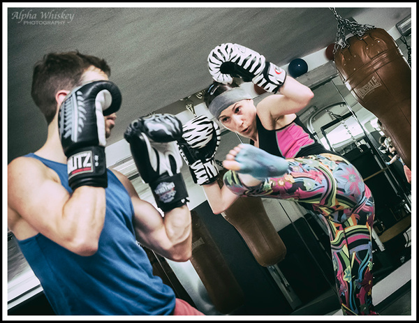 A Kickboxing Class by Alpha Whiskey Photography