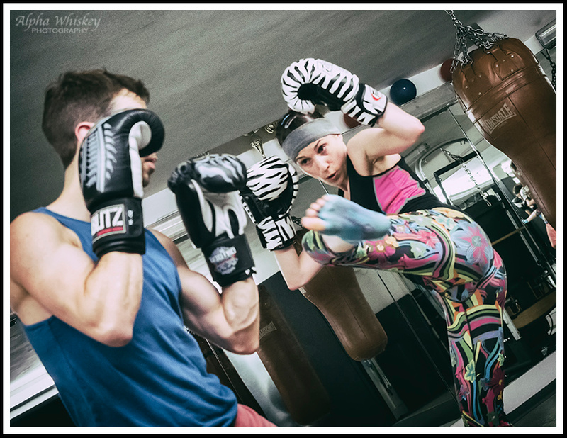 A Kickboxing Class