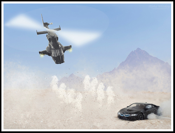 Airwolf vs BMW by Alpha Whiskey Photography