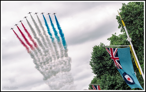RAF Centenary Flypast by Alpha Whiskey Photography