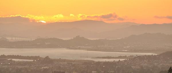 Oakland Hills Sunset by FrankieT by FrankieT