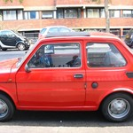 Maluch vel Fiat 126p in London