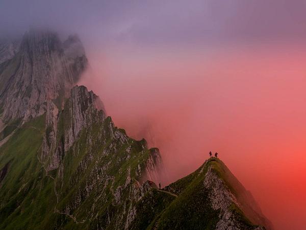 Apenzel Alps by Serge Ramelli