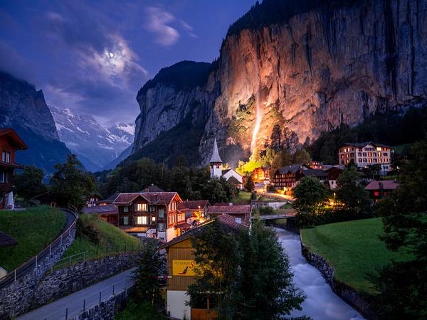 lauterbrunnen - Landscapes by Serge Ramelli