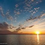 Dubna sunset