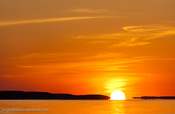 Dubna sunset by sdolya by sdolya