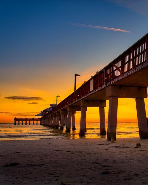 Golden Pier - Land & Sea - Dee Potter Photography
