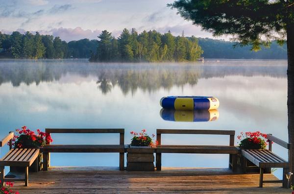 Muskoka sunrise - Canada - Dee Potter Photography