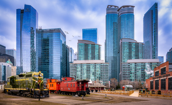 Toronto Roundhouse Train Yard - Canada - Dee Potter Photography