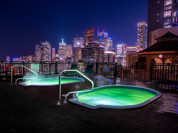 Toronto Grand Hotel Rooftop - Canada - Dee Potter Photography