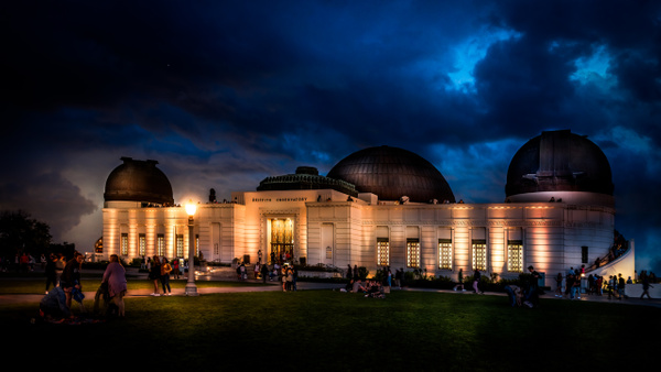 Griffith Park Drama Observatory - Home - Dee Potter Photography