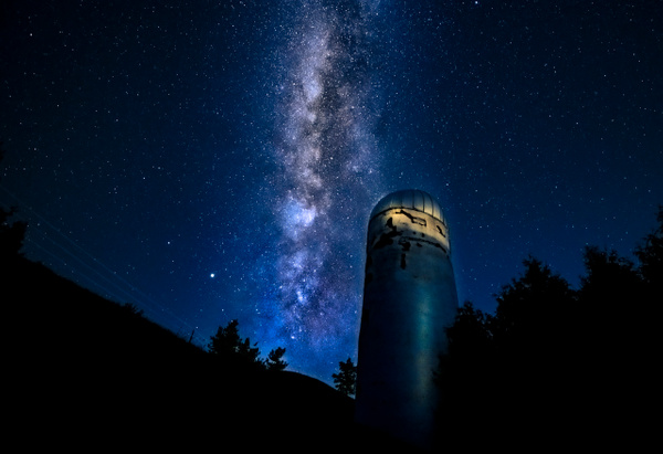 Milky Way Silo - Landscapes - Dee Potter Photography