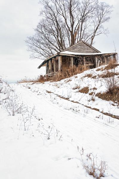 Abandoned Pinkerton House-9 - White Photos - Dee Potter Photography