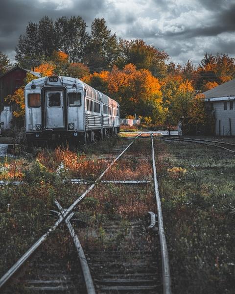 Autumn Train of Uxbridge - Urban - Dee Potter Photography