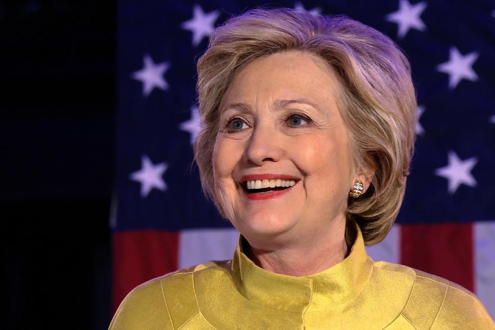 Hillary Clinton, New York, April 2016