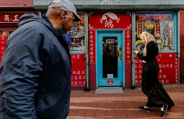 Chinatown, Washington, DC, USA - Street Photography - Justine Kirby Photography