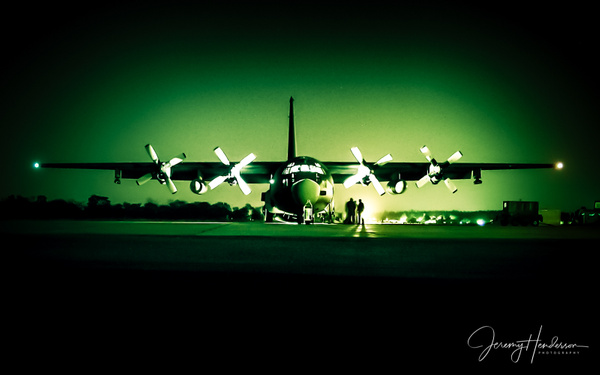 C-130 Night Vision