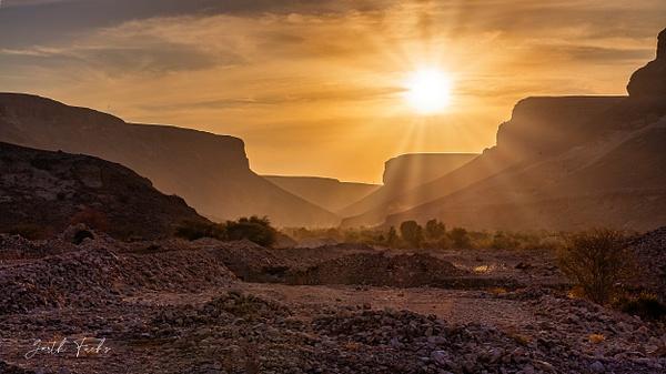 Mountain sunset in the Yemen Desert-1 - Special: Namibia - Garth Fuchs Photography