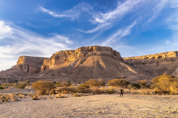 Man looking up at the hill in the Yemen Desert-1 - Special: Namibia - Garth Fuchs Photography
