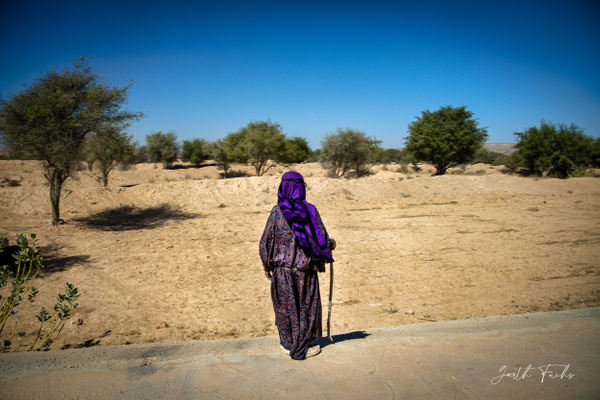Bedouin at roadside-2 - Special: Namibia - Garth Fuchs Photography
