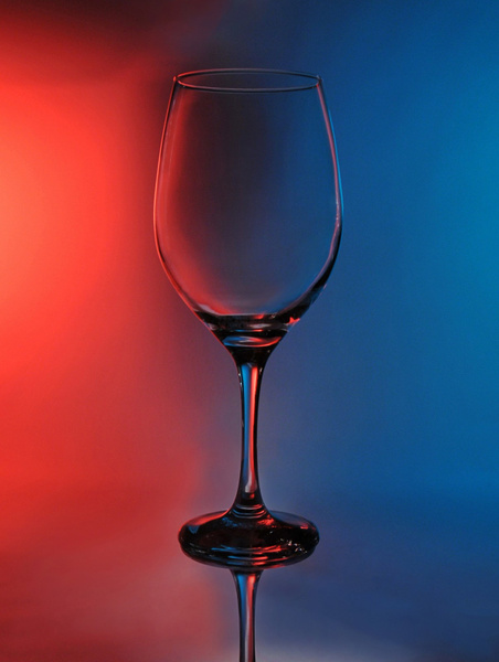 Wine-Glass-Red-Blue - High Quality Product Photography by Luminous Light Photography Toronto